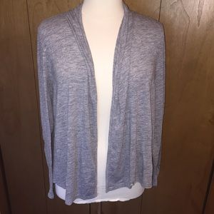 Sx XXL Old Navy gray open front cardigan